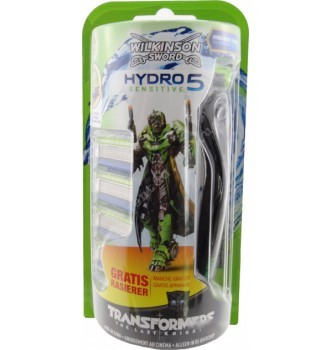 Купить Станок для бритья Wilkinson Sword HYDRO 5 Sensitive Transformers + 4 cменных картриджа - с доставкой по Украине