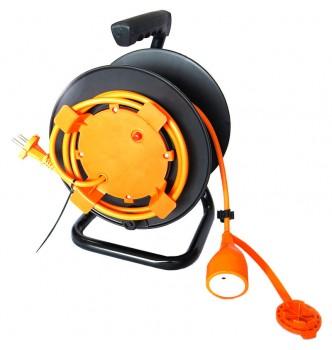 Купить Барабан с электрическим армированным кабелем 20 м для садовых инструментов ARMOUR TMX2613 - с доставкой по Украине