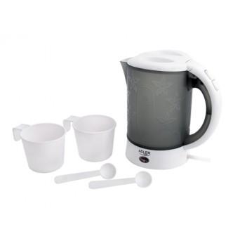 Купить Дорожный чайник 0,6 л Adler AD 1268 - с доставкой по Украине