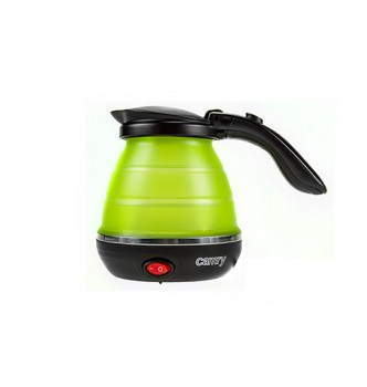 Купить Дорожный чайник силиконовый 0,5л Camry CR 1265 - с доставкой по Украине