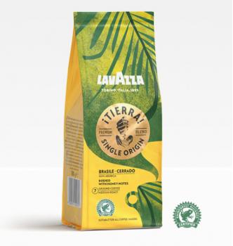 Купить Кофе LAVAZZA Tierra Brasile Cerrado молотый 180 г - с доставкой по Украине