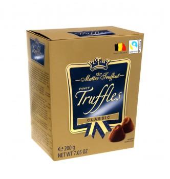 Купить Конфеты Maitre Truffout Classic Трюфель Классический 200 г - с доставкой по Украине