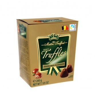 Купить Конфеты Maitre Truffout Hazelnut Трюфель Ореховый 200 г - с доставкой по Украине
