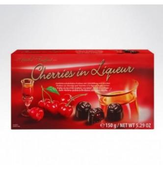 Купить Конфеты шоколадные Вишня в ликере Maitre Truffout 150гр - с доставкой по Украине