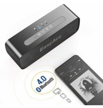 Купить Портативная колонка EasyAcc SoundX 10W Bluetooth - с доставкой по Украине