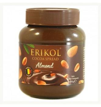 Купить Шоколадно-ореховая паста Erikol Almond 400гр - с доставкой по Украине