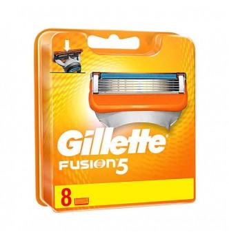Купить Сменные картриджи (кассеты) Gillette Fusion 5, 8 шт - с доставкой по Украине