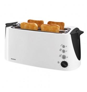 Купить Тостер двойной на 4 тоста Silver Crest SDLT 1500 A2 white - с доставкой по Украине