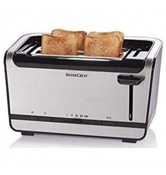 Купить Тостер двойной на 4 тоста Silver Crest SDLTD 1400 A1 - с доставкой по Украине