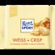 Шоколад Ritter Sport белый с крипсами (100г)