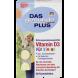 Витамин D3 для детей Mivolis - DAS gesunde PLUS Vitamin D3 Kautabletten, 60 шт